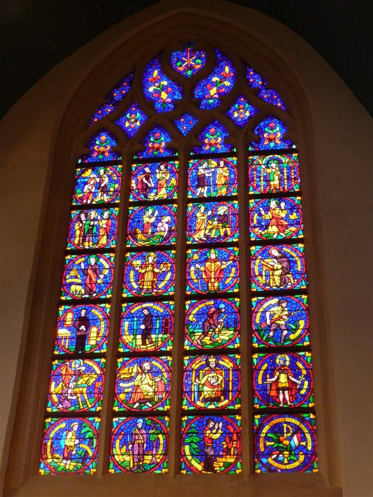 Foto raam kerk