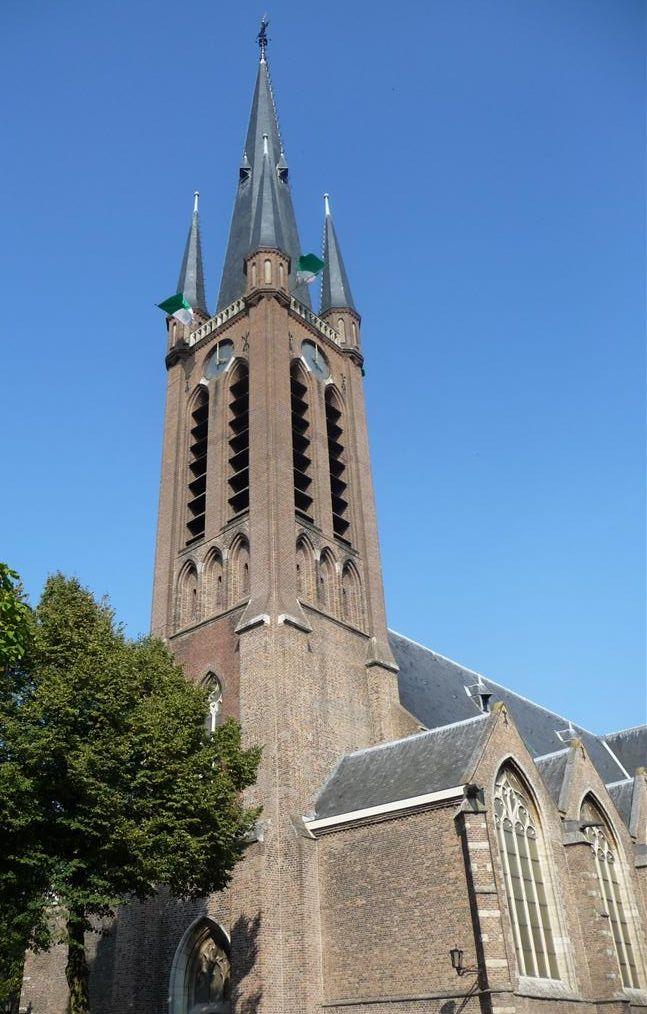 Kerk vooraanzicht